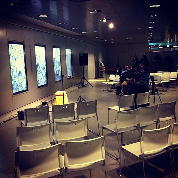 石田プレゼミのみんなが運営、映像制作をしたイベントがチカホで始まります。